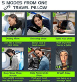 Foldable Travel Pillow Bag (5 Modes)