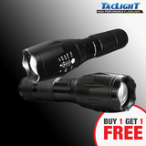 Taclight High Performance Tactical Flashlight (Buy 1 Take 1)