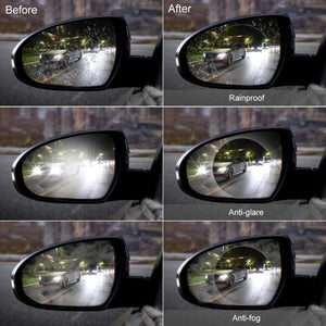 EagleEye™ Premium Anti Fog Rear View Mirror Film - BUY 1 TAKE 1 (2 pairs)