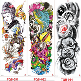 INKREDIBLE Hypoallergenic Full-Arm Temporary Tattoo