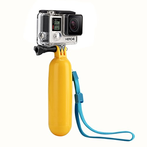 Handheld Foldable Monopod for GoPro with FREE Floating Hand Grip
