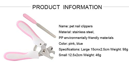Pet Nail Clipper w/ Free Nail File