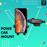 POWR Auto-Grip Car Phone Mount (Ultra-Slim)