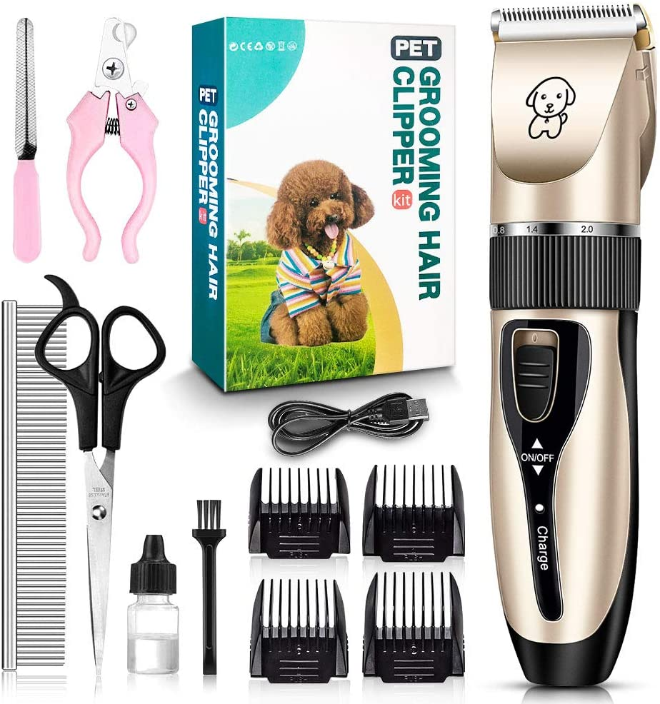 Pet Pro Electric Razor w/ FREE Grooming Set