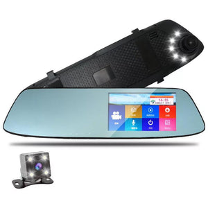 Touch Screen Night Vision Car Camera w/ Rear View Camera