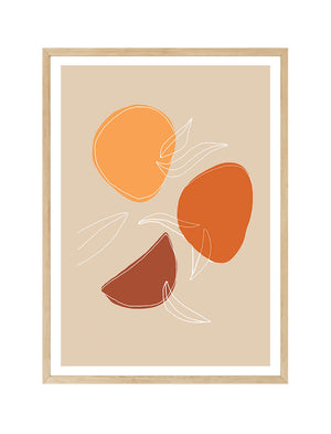 Abstract Oranges I