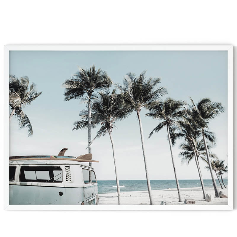 Kombi by the Beach