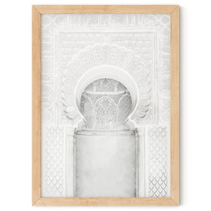 Moroccan Arches in White