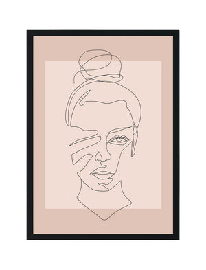 Line Art Woman - Gigi