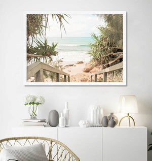 Wategos View I - Byron Bay Print