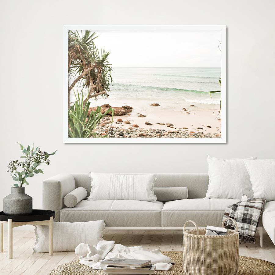 Wategos View II - Byron Bay Print