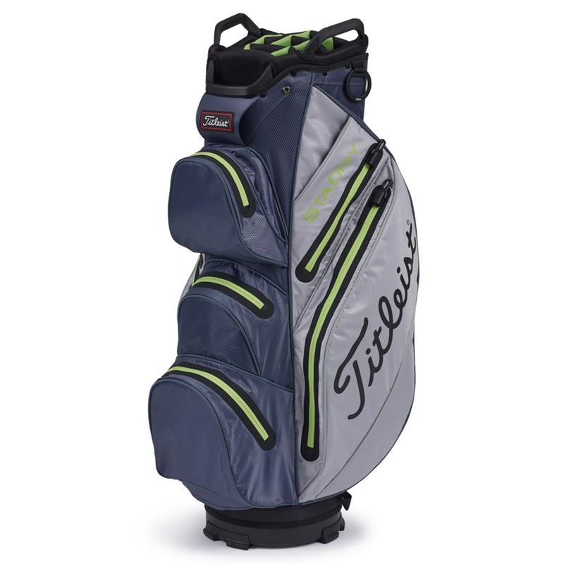 Titleist StaDry Cart Bag Grey Charcoal Apple
