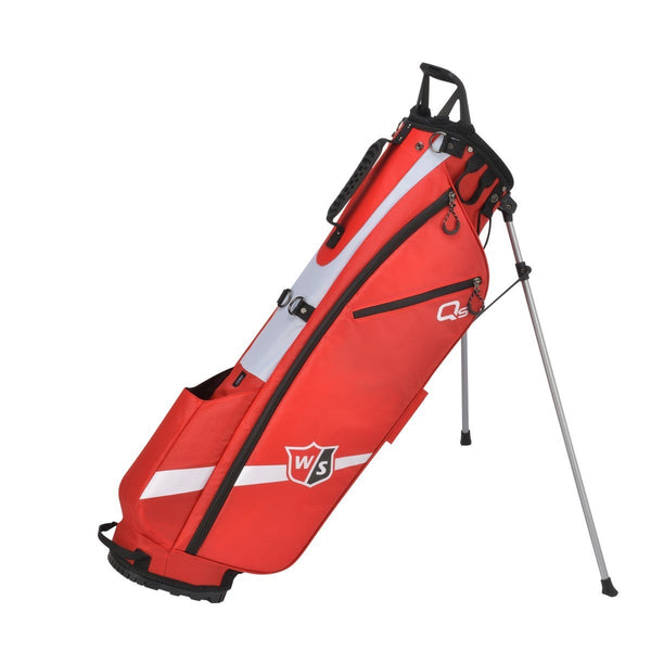 Wilson Staff Quiver Stand Bag - Red