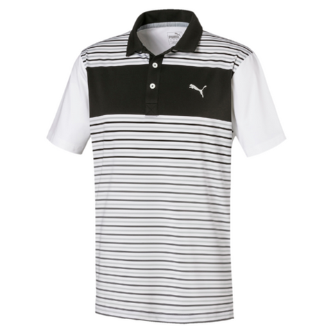 Puma FLOODLIGHT Polo Black/White
