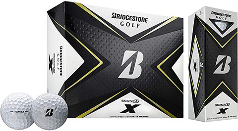 Bridgestone 2020 Tour B X Golf Balls - Dozen
