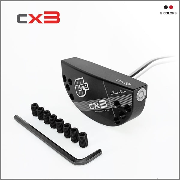 Cure Classic CX3 Heel Shaft Putter