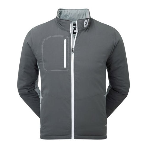 Footjoy Thermal Quilted Jacket (Grey Heather/White)