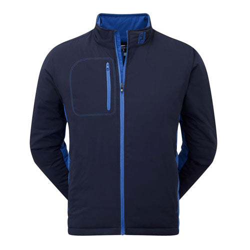 Footjoy Thermal Quilted Vest (Navy/Cadet Blue)