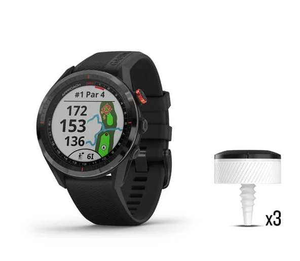 Garmin Approach® S62 GPS Watch Bundle Black