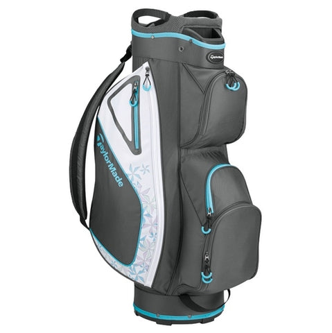 Taylormade Kalea Cart Bag Grey/White/Sky Blue