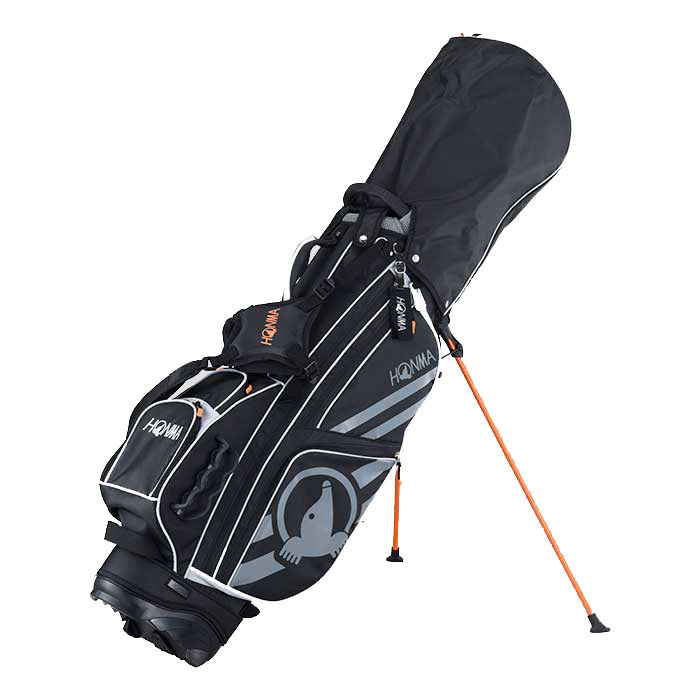 Honma Athletic Stand Bag Black