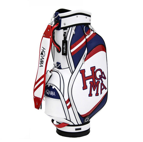 Honma Caddy Cart Bag White/Red