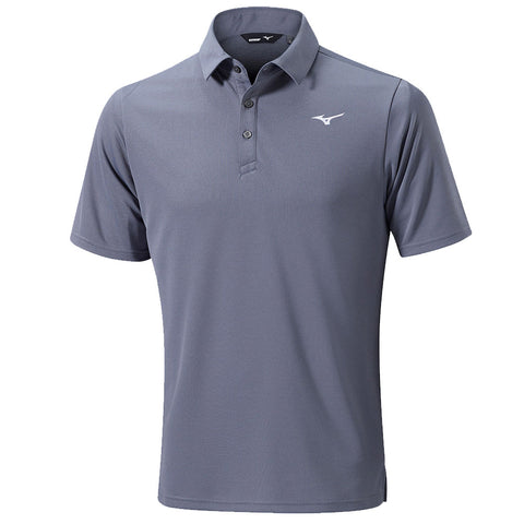 Mizuno BT Plain Polo Grey