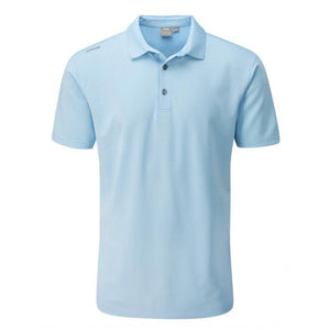 Ping Lincoln Polo Shirt - Sky Blue
