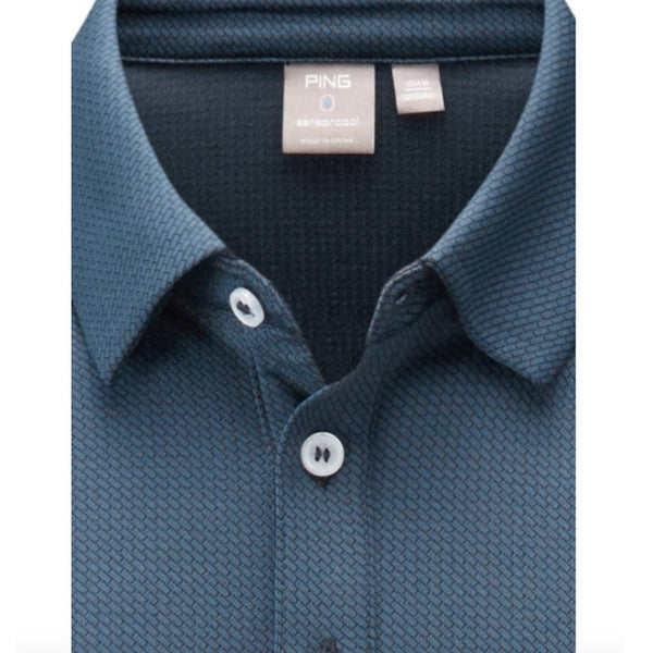 Ping Preston Polo Shirt - Oxford Blue