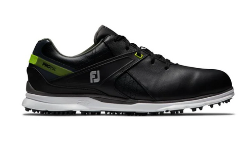 Footjoy 2020 Pro SL Golf Shoes - Black/Lime
