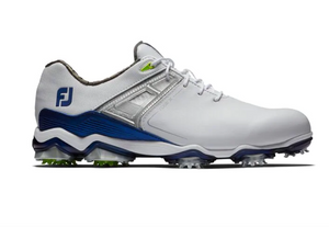 Footjoy Tour X Golf Shoes - White/Navy