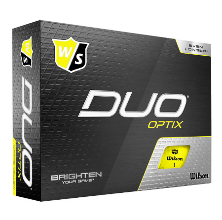 Wilson Staff DUO Optix Matte Yellow - Dozen