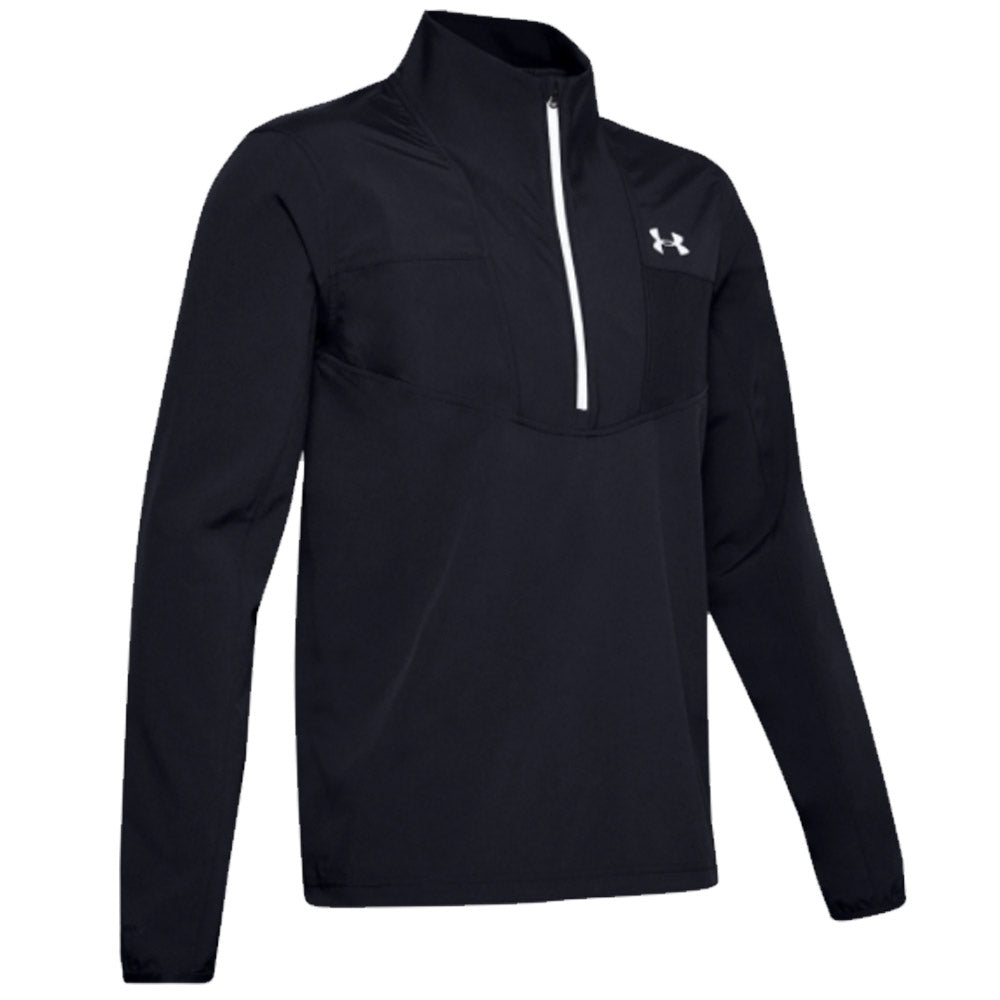 Under Armour Storm Windstrike 1/2 Zip Black Halo Gray