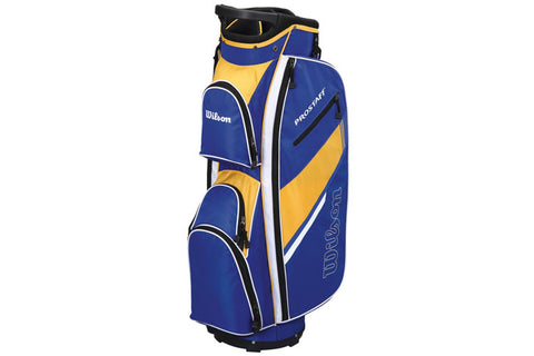Wilson Pro Staff Cart Bag Blue/Yellow