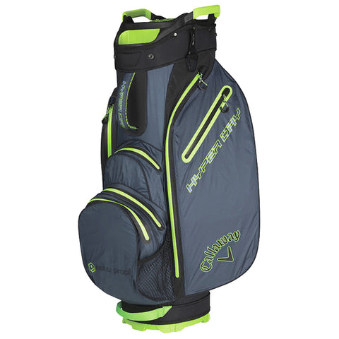 Callaway Hyper Dry Golf Cart Bag Grey Black Green