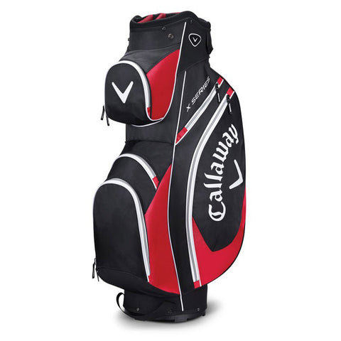 Callaway X Series Cart Bag Black/Red/White