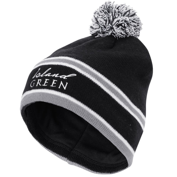 Island Green Golf Winter Warm Sports Bobble Pom Pom Hat