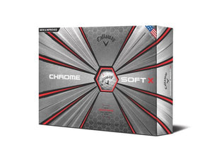 Callaway Golf Chrome Soft X 12 Ball Pack 2018