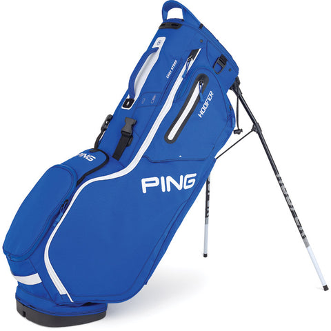 Ping Hoofer Stand Bag Royal/White