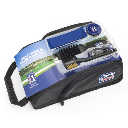 PGA Tour Shoe Bag & Accessories Set