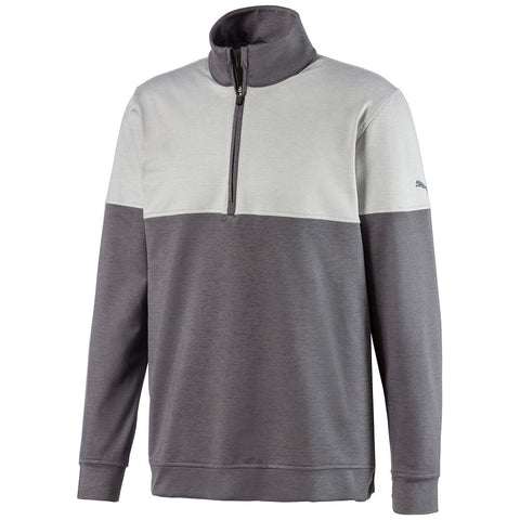 Puma WARM UP 1/4 ZIP Quiet Shade