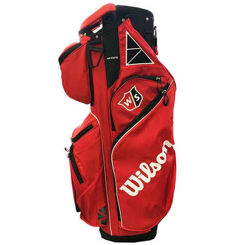 Wilson Staff Exo Cart Bag Tour Red