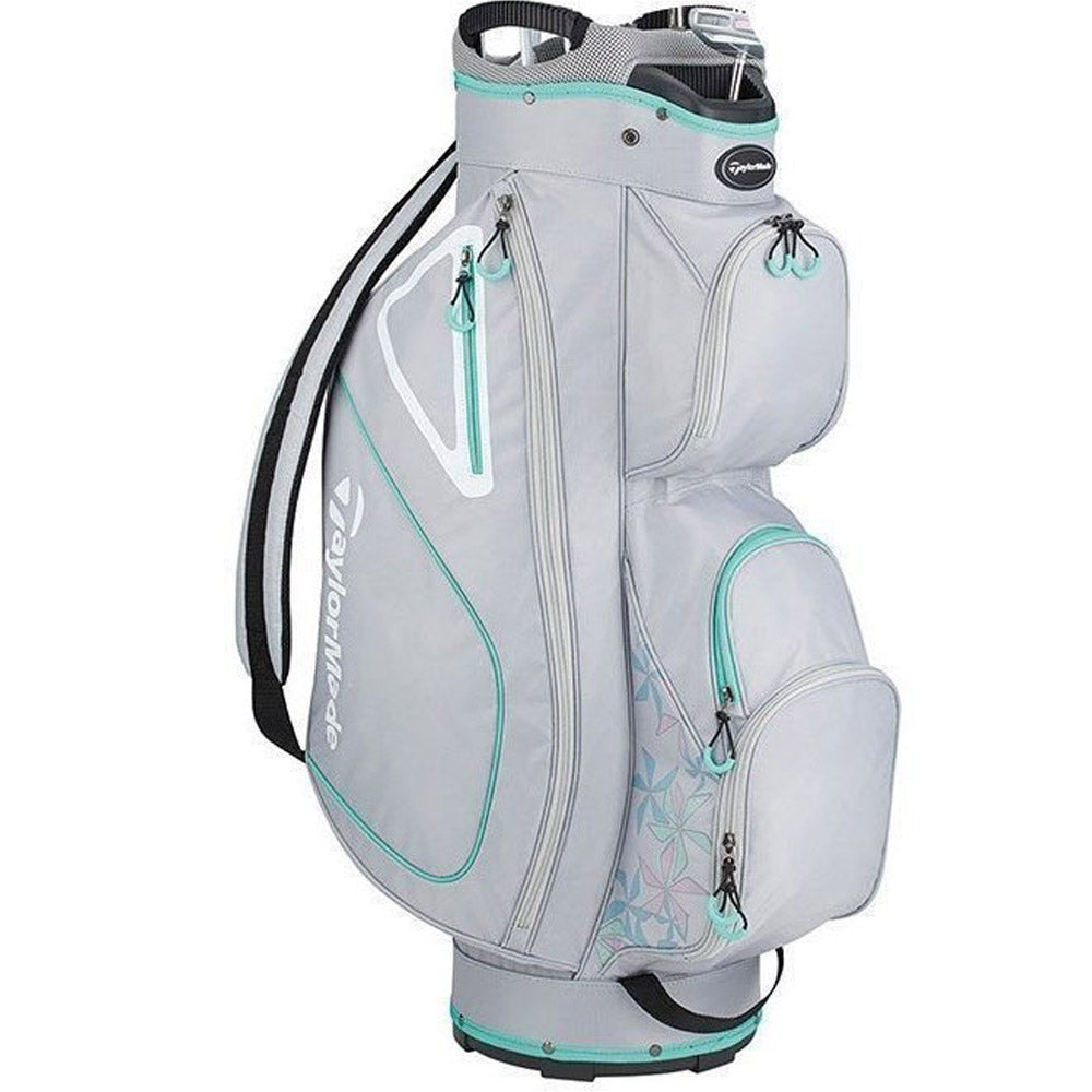 Taylormade Kalea Cart Bag Grey/Silver/Green