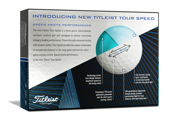 Titleist Tour Speed Balls (Dozen)