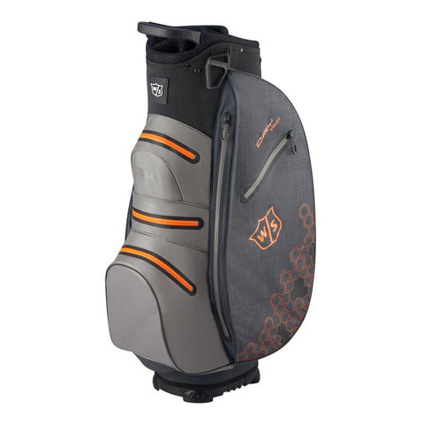 Wilson Staff Dry Tech II Cart Bag Blue/Grey/Orange