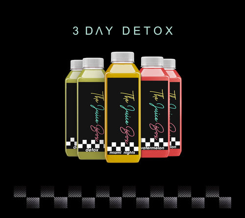 3 DAY DETOX - The Juice Box-Houston
