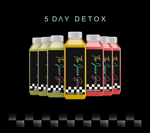 5 DAY DETOX - The Juice Box-Houston