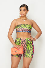Rainbow Leopard Short Set - Fashion House USA