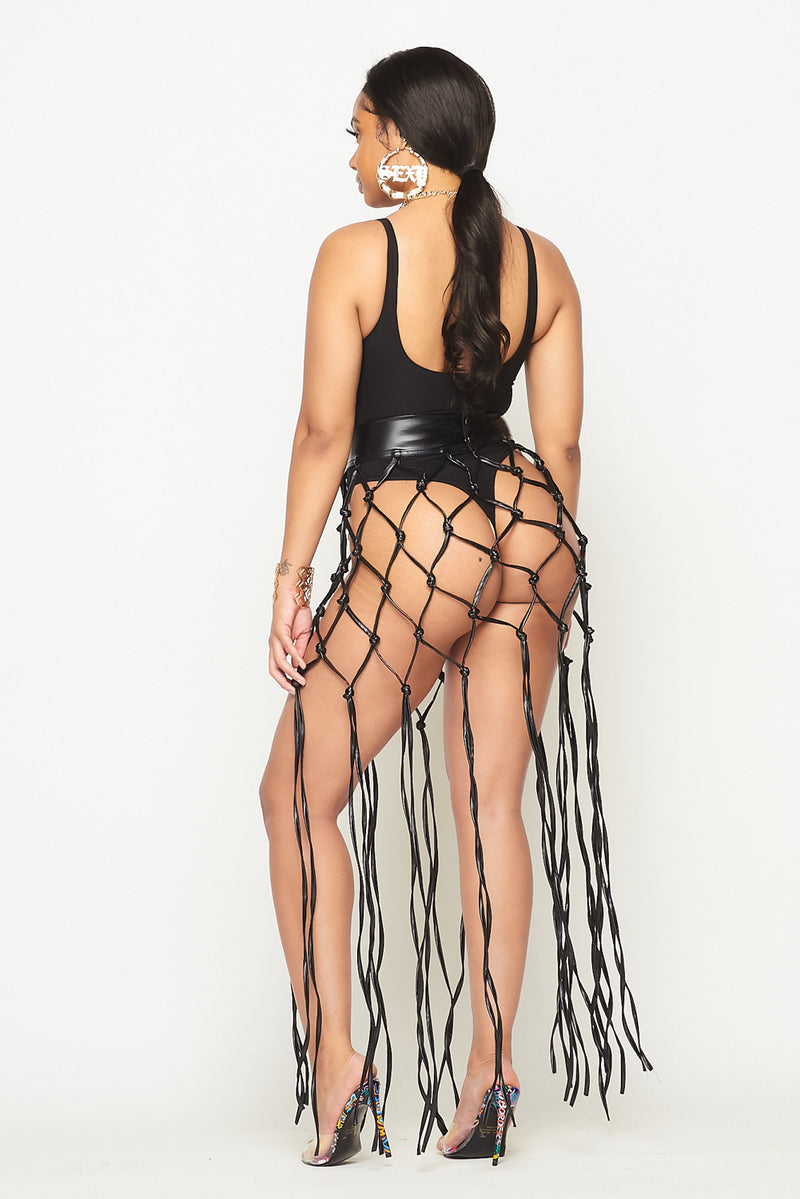 Stretch Caged Skirt - Fashion House USA