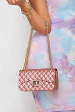 Iconic Mini Handbag-ROSE GOLD - Fashion House USA